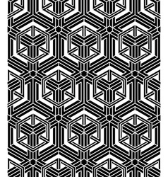 Graphic seamless abstract pattern regular vector