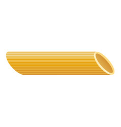 Penne pasta icon realistic style vector