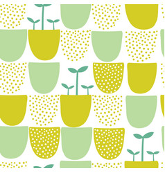 Seamless minimal scandinavian pattern with vector