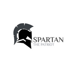 Spartan logo designs modern and simple vector