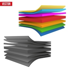 Technical of a multilayer material vector
