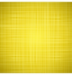 Yellow cloth texture background vector image