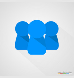 concept of team or group vector image
