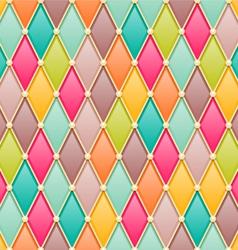 diamonds fairy tale pattern vector image vector image