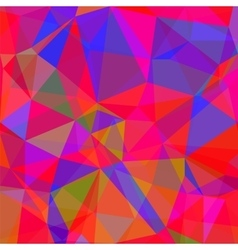 Abstract Red Blue Polygonal Background vector image