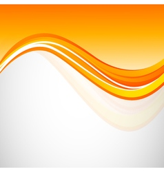 Abstract wavy dynamic design background vector image