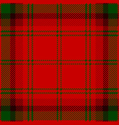 Clan macdougall scottish tartan plaid pattern vector