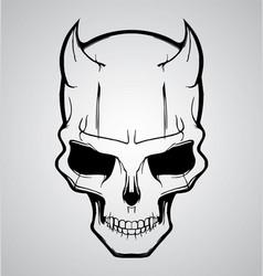 Devil Skull vector