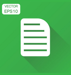 Document icon business concept archive data file vector