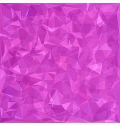 Polygonal Pink Background vector image vector image