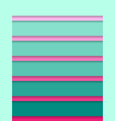 Turquoise and pink corporate abstract background vector