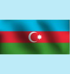 flag of azerbaijan - vector image