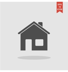 Home icon Flat design style vector image