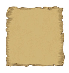 aged scroll paper vector image vector image