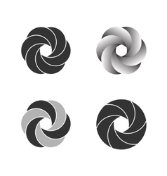 Logo Or Emblem Template Icon vector image