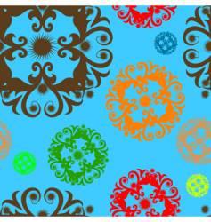 seamless design vector image