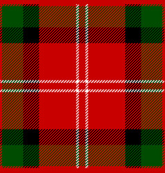 Clan mackintosh scottish tartan plaid vector
