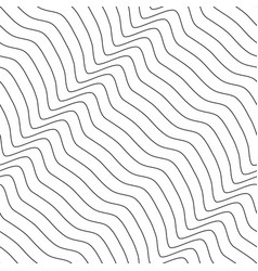 decorative seamless outline pattern vector image
