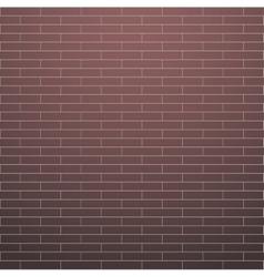 Red brick wall vector