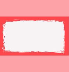 Retro dirty empty frame grunge background design vector