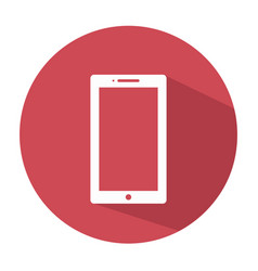 smartphone icon mobile icon vector image