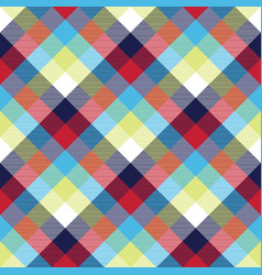 Tablecloth diagonal fabric texture seamless vector