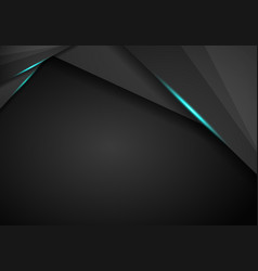 technology background with metallic banner vector image