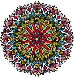 Beautiful Mandala Hindu symbol vector image vector image