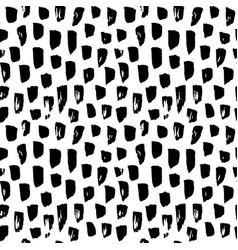 seamless pattern paint brush stroke vector image vector image