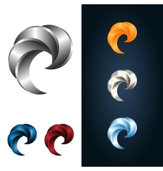Logo Or Emblem Template Metal Claw Icon vector image vector image