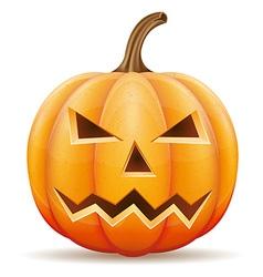 pumpkin 06 vector image vector image