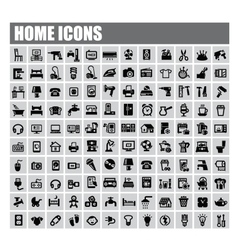 home icons vector image