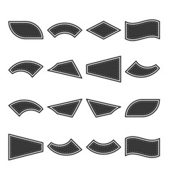 A field for text on surfaces of various shapes vector