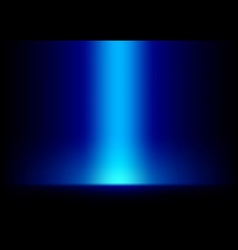 Blue Light from Top Background vector image