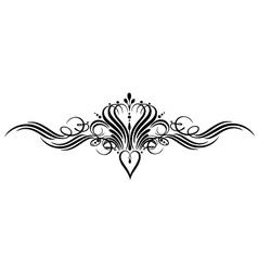 calligraphy calligraphic vector image