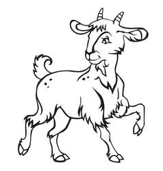 goat-2 vector image