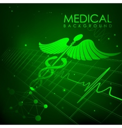 Healthcare and Medical Background vector image