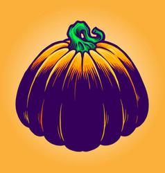 jack o lantern pumpkins vector image