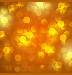 yellow bokeh background background vector image