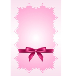 Baby pink background vector image