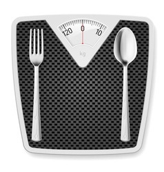 Libra spoon fork 02 vector image
