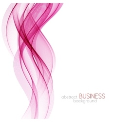 Abstract background pink wavy vector