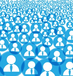 Abstract crowd vector