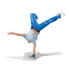 Breakdancing vector