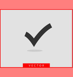 check mark icon symbol design element vector image
