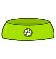 Empty Dog Bowl vector