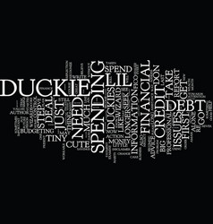 Financial wizards prepare lil tiny duckies text vector