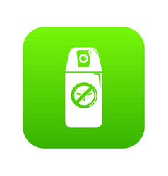 mosquito spray icon green vector image