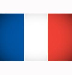 National flag of France vector image