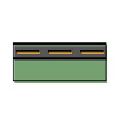 road icon image vector image
